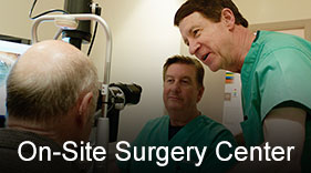 On-site surgery center